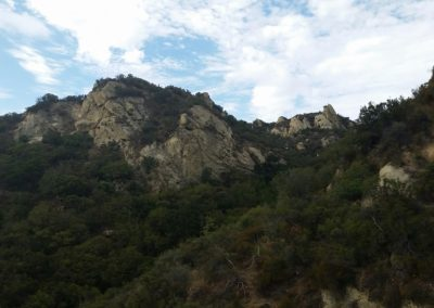 Santa Monica Mountains hillside