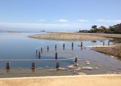 Malibu Lagoon watertable clock