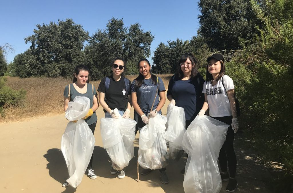 Coastal Clean Up Day – 170 Volunteers Remove Over Four Tons of Trash from Two Local Creeks